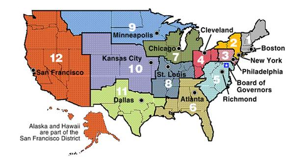 Exhibit 2: The Twelve Federal Reserve Districts